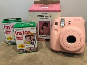 Camera Fotografica Fujifilm Instax Mini Rosa 8