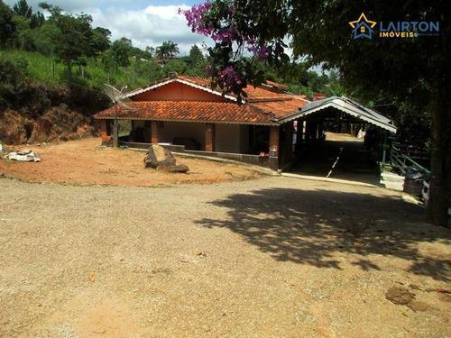 Chácara Com 2 Dormitórios À Venda, 1340 M² Por R$ 290.000,00 - Vitória Régia - Atibaia/sp - Ch1290