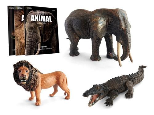 Imagen 1 de 4 de Clarín Colección Mundo Animal Nat Geo Set 1 Con 3 Entregas