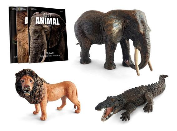 Clarín Colección Mundo Animal Nat Geo Set 1 Con 3 Entregas