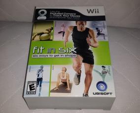 Jogo Fit In Six Original Nintendo Wii Wi U Completo