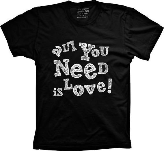 Camiseta All You Need Vários Tams. Plus Size G1 G2 G3 G4