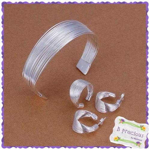 32e4313e70b4 Aretes Argolla 925 Plata Sterlina - Joyas - Mercado Libre Ecuador