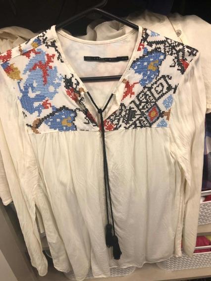 Camisa Portsaid Como Nueva Bordada Divina