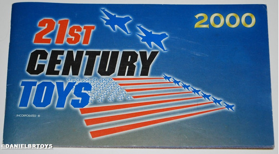 Catálogo 21st Century Toys 2000 32pgs 17x10cm Falcon Estrela