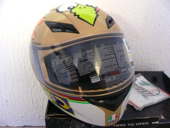 Capacete Agv K3 Valentino Rossi - The Chicken Original Novo