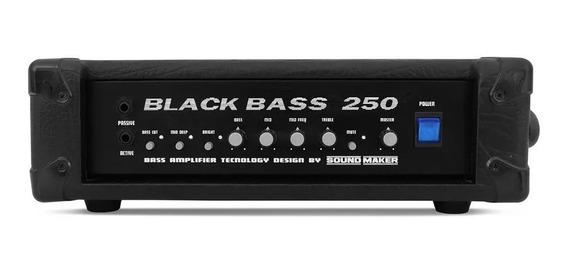 Cabeçote Baixo Black Bass 250- Sound Maker-baixei Pra Vender