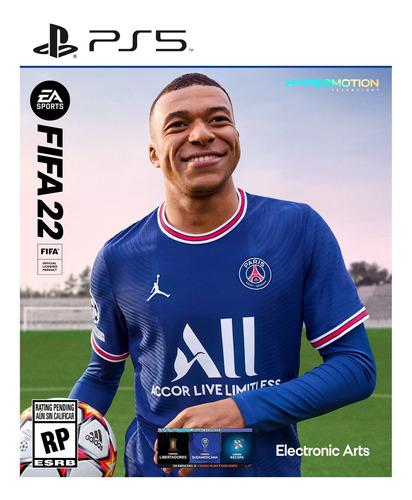 Imagen 1 de 2 de Fifa 22 Ps5 Formato Fisico Original Sellado