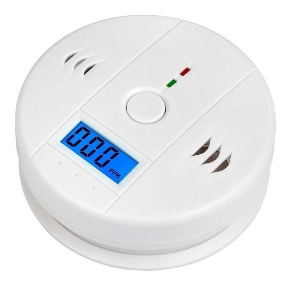 Detector Sensor Alarme Incêndio Monóxido De Carbono Fumaça