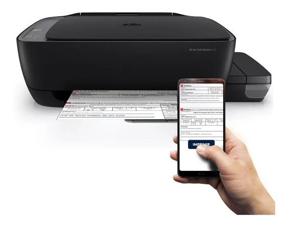 Impressora Hp 412 Wi-fi Com Tinta Oferta Ecotank