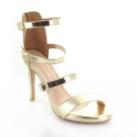 Zapatilla Para Mujer Rafael Ferrigno 5150-045804 Color Oro