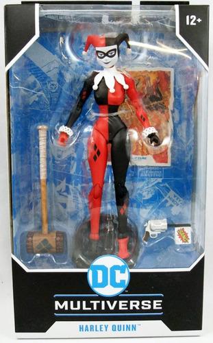 Dc Multiverse Harley Quinn Classic Figura