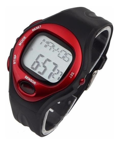 Relógio Pulso Monitor Cardíaco Frequencímetro Calorias Crono