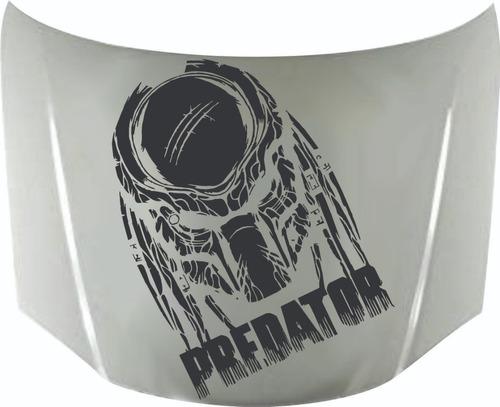 Calcomanía Capot Depredador 06 Calcos Graficastuning 00094