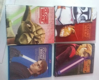 Blu-ray The Clone Wars Lote De Temporadas 1, 2, 3 Y 5