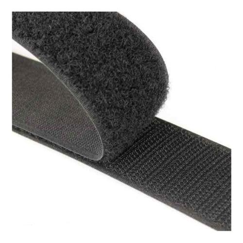 1 Metro Velcro Negro 25 Mm