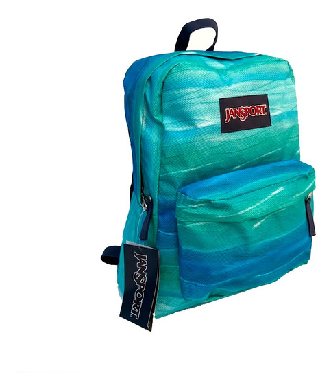 Mochila Jansport Super Break Ocean Caribe