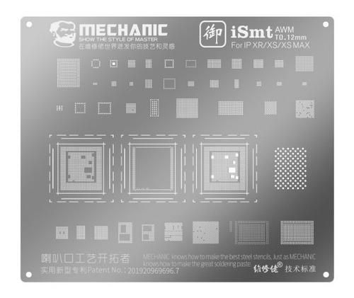 Stencil Merchanic iPhone XR/xs/xs Max
