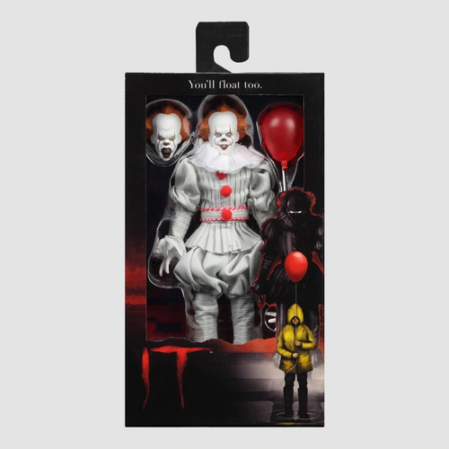 It Pennywise 2017 Clothed Neca Original Replay