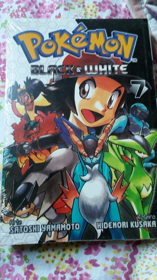 Mangá Pokemon Black & White N°7