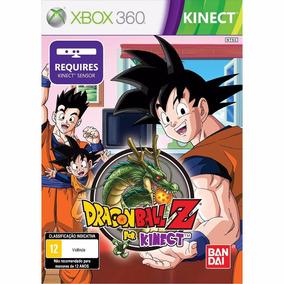 Jogo Dragon Ball Z For Kinect - Xbox 360