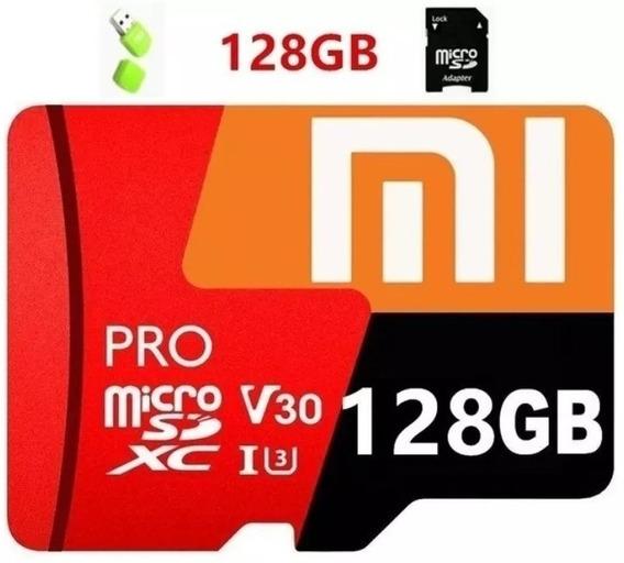 Cartão De Memória Micro Sd De 128gb Xiaomi + 2 Adaptadores