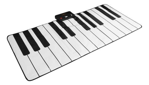 Alfombra De Teclado Gigante Piano Tapete Music Fao Schwarz