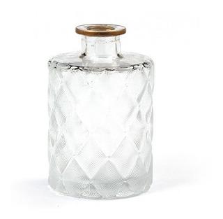 Frasco De Vidrio Cristal - Perfumero - Florero De 11cm/13cm