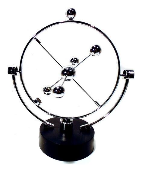 Pêndulo Cinético Mobile Giratório Magnético Cosmos Orbital