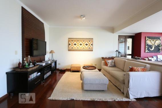 Apartamento No 2º Andar Mobiliado Com 3 Dormitórios E 3 Garagens - Id: 892956385 - 256385