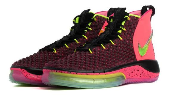 Nike Alphadunk Rosa, Negro, Amarillo