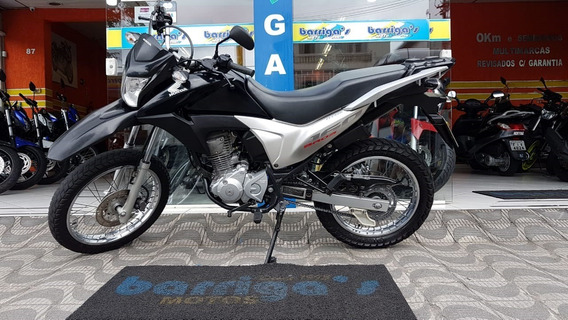 Honda Nxr Bros Esdd 160cc 2015 Preta Único Dono