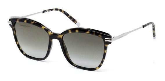 Calvin Klein Ck1237s 214 55 - Havana-dourado/marrom Gradient