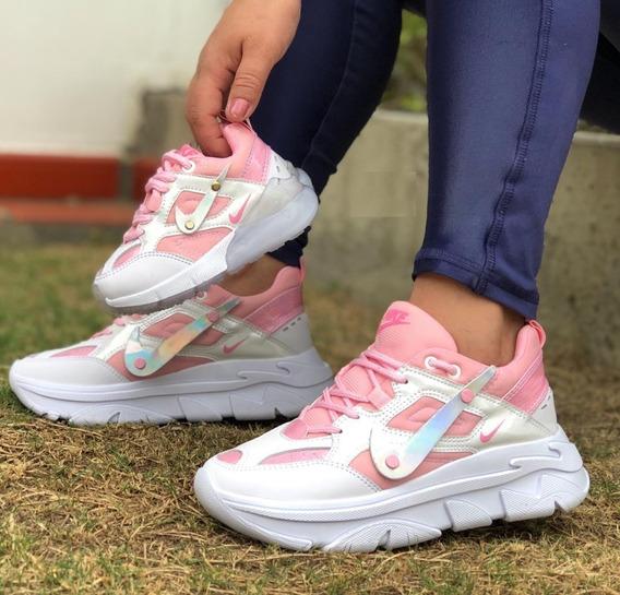 Tenis Zapatos Nike Tekno Para Mujer Y Niña