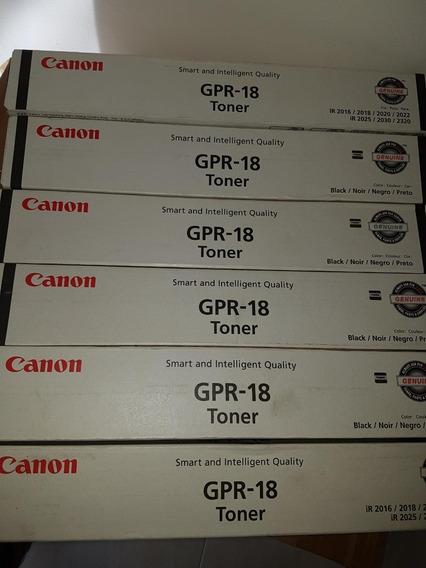 Toner Para Impressora Canon Gpr-18