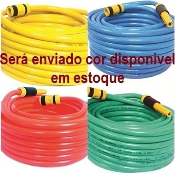 Promocao 5 Mts Cj Mangueira Jardim 1/2 Siliconada Reforçada