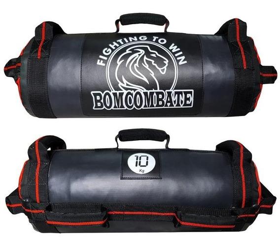 Power Bag 10kg Treinamento Funcional Crossfit Vermelho
