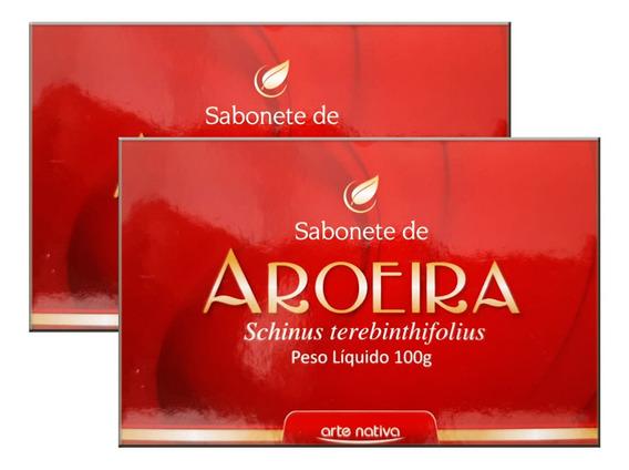 Sabonete De Aroeira 2 X 100g - Arte Nativa
