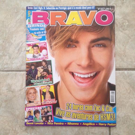 Revista Bravo 263 06/10/2008 Zac & Cia. Hsm3 / Demi Lovato