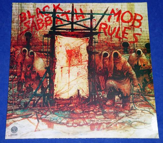 Black Sabbath - Mob Rules - Lp - Holanda Dio Lacrado