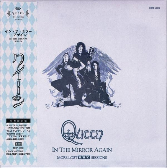 Cd Queen ¿ In The Mirror Again (more Lost Bbc Sessions)
