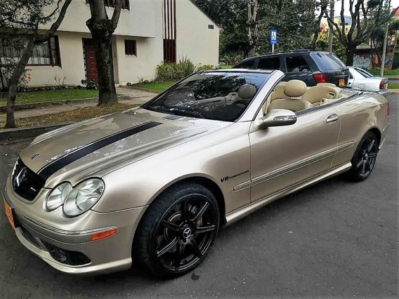 Mercedes Benz Clk 500 Convertible