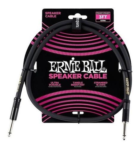 Cable Speaker Parlante Bafle 90cm Ernie Ball 6071 - Oddity