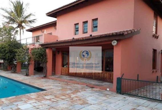 Casa Com 4 Quartos À Venda, 380 M² Por R$ 1.070 - Cidade Universitária - Campinas/sp - Ca1043