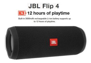 Parlante Bluetooth Jbl Flip 4 Waterproof