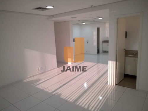 Sala Comercial De Frente 2 Salas 2 Vagas No Jardins - Bi3824