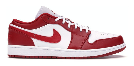 Tênis Air Jordan 1 Low Gym Red 43