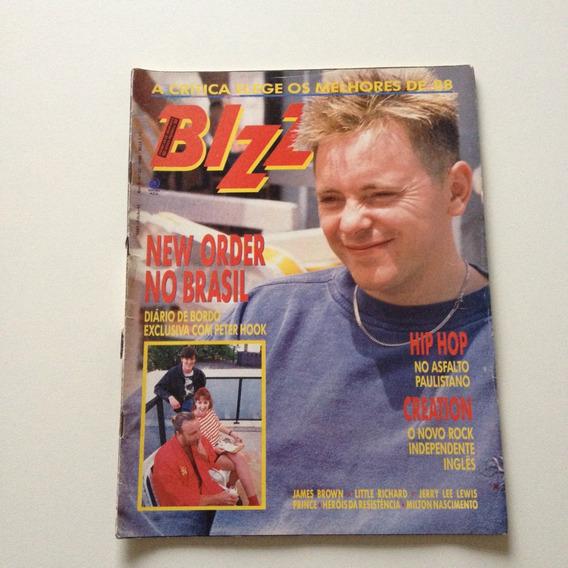 Revista Bizz New Order No Brasil James Brown