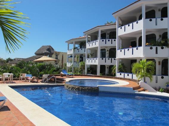 Venta De Departamento En Condominio Exclusivo En Puerto Escondido, Oaxaca.