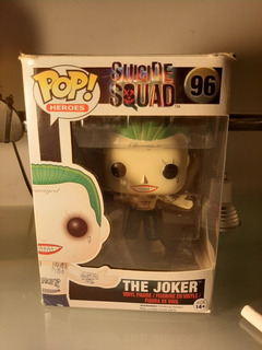 Funko Pop Joker 96 Jared Leto Suicide Squad Coleccionable